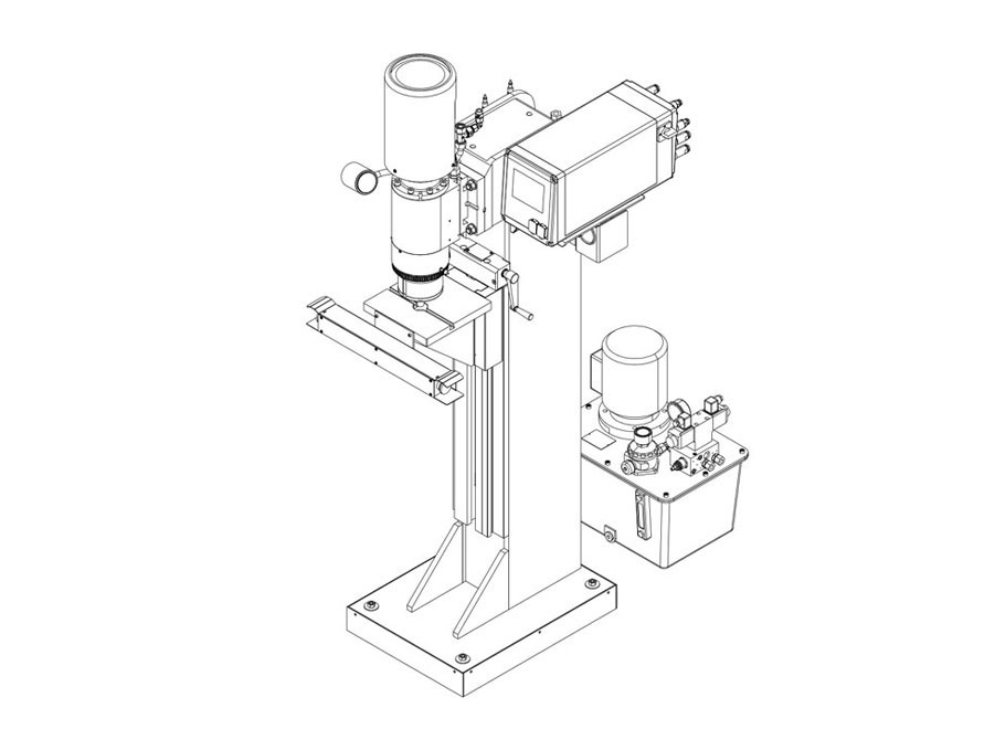 Staender-Nietmaschinen