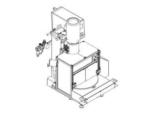 rundschalttisch-Nietmaschine